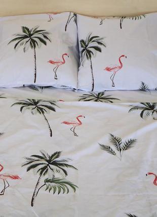 Постельное белье фламинго