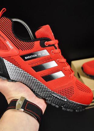 Кроссовки adidas marathon tr 26 арт 20750 (мужские, красные, а...