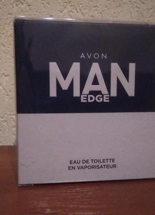Туалетная вода avon man edge, 75 мл