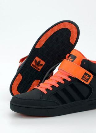 Adidas varial mid black♦ женские кроссовки найк ♦ весна лето о...