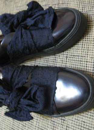 Стильные женские туфли слипоны р.41