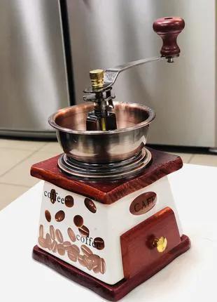 Кофемолка ручная с керамическим ящиком Frico FRU-401