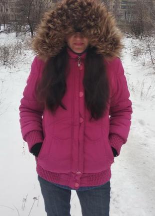 Куртка зимняя, теплая, пуховик.