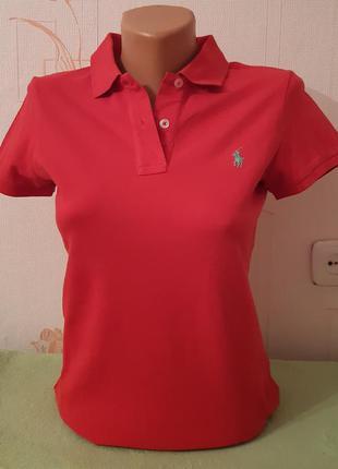 Яркая футболка красного цвета estblished 67 slim fit made in i...