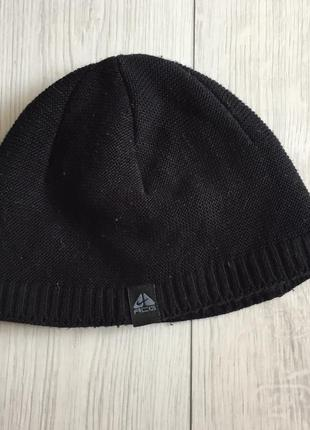 Шапка чоловіча чорна, мужская зимняя шапка.