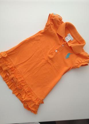 Платье поло платюшка сарафан туничка 12-18 мес 1-1,5 года