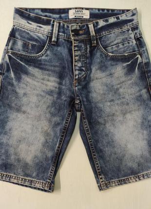 Savvy джинсовые мужские шорты