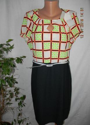 Новое платье с ярким принтом
