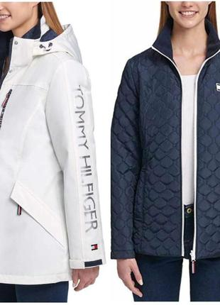 Tommy hilfiger 3 in 1 all weather systems куртка оригинал м 12...