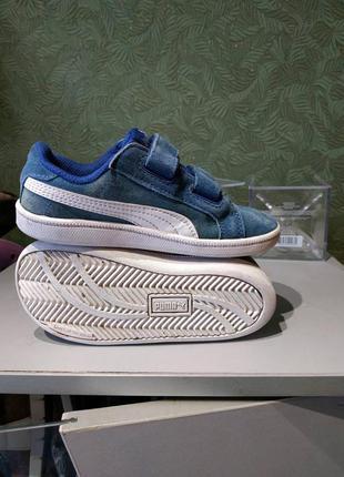 Puma оригинальные детские кроссовки на липучке