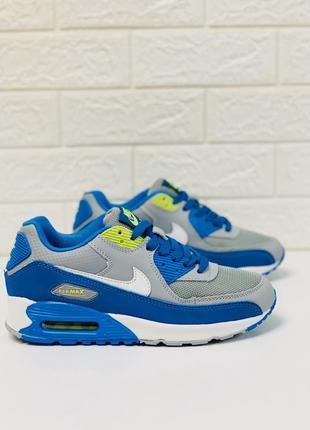 Nike air max 90 кроссовки женские кожа найк аир макс 90 кросів...