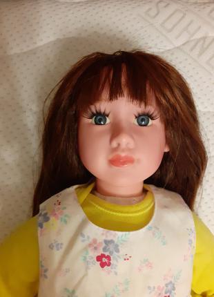 Очень красивая кукла с шикарными волосами и ресницами, большая 51