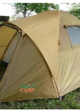 Палатка 4-х местная Green Camp 1004.