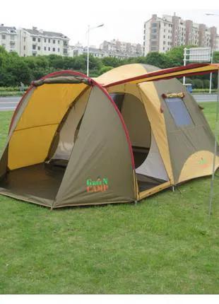 Палатка 4-х местная Green Camp Х-1036