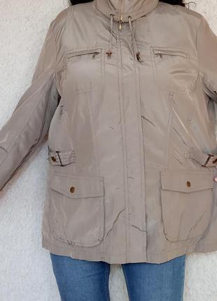 Весенняя лёгкая куртка на подкладке