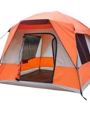 Палатка 4+2 местная Green Camp 10