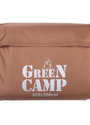 Пол дополнительный для палатки, тента, 400*300 cм, коричневый.
