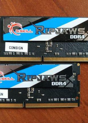 DDR4-2400 Sodimm G.skill Ripjaws 16gb (2*8) 1.2v