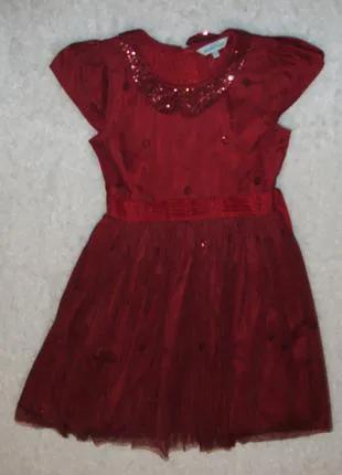 Нарядное платье 11 - 12 лет девочке фатин пышное