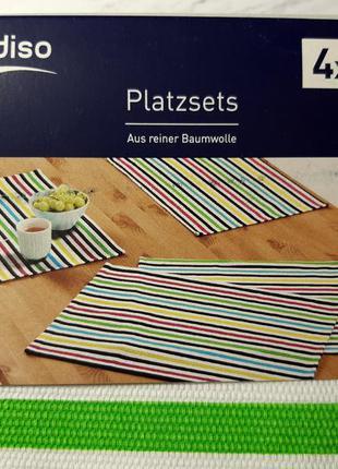 Яркие салфетки для сервировки стола 4 шт meradiso, германия, #...
