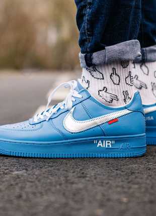 Nike Air Force 1 Blue x Off White