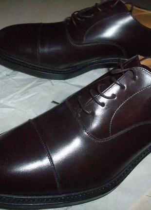 Мужские итальянские эксклюзивные туфли ручной работы фирмы Reg...