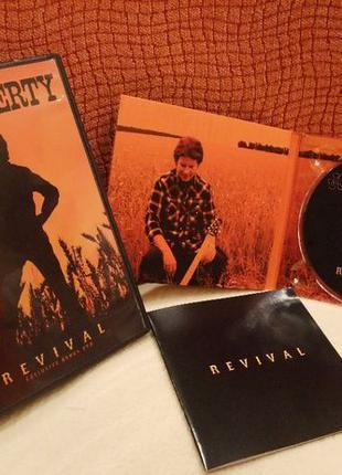 "John Fogerty ""Revival "" CD плюс эксклюзивный DVD диск "" Revival """