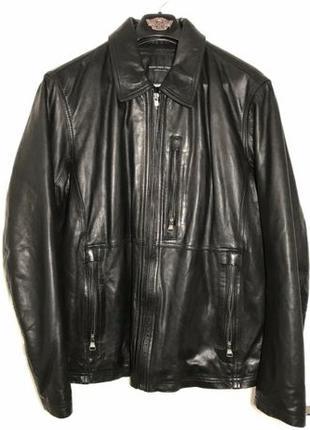 Элитная стильная кожаная куртка MARC NEW YORK by Andrew Marc $600