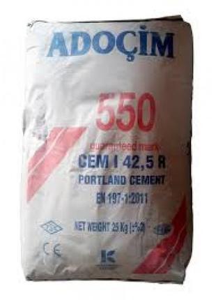 Цемент турецкий ПЦ 550 25 кг ADOCIM