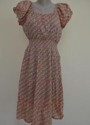 Супер платье хлопок индия