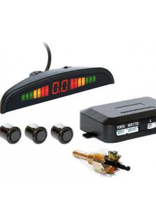 Парктроник автомобильный Car Radar на 4 датчика + LCD монитор