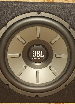 Сабвуфер JBL STAGE 1200B + Усилитель JBL GX-A604