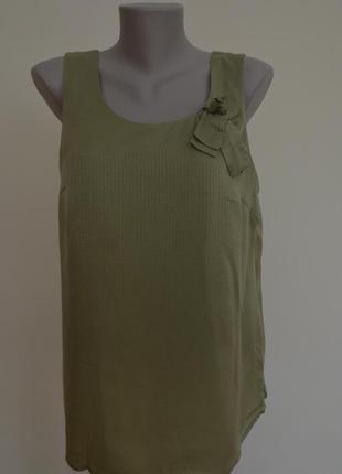 Шелковая блузочка майка 100% шелк