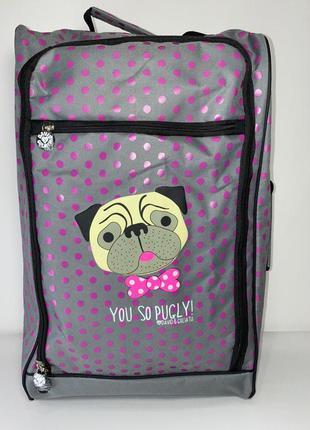 Дорожная сумка - чемодан от бренда david&goliath