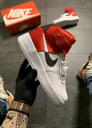 Nike Air Force 1 High Red White