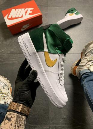Nike Air Force 1 High Green White .