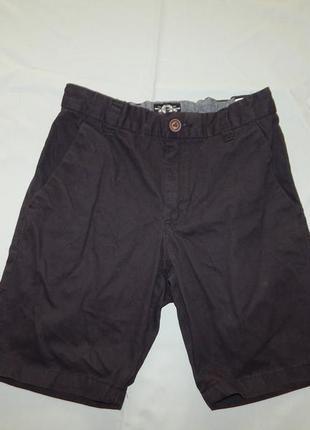 Next шорты котоновые стильные модные на мальчика 10 лет чёрные