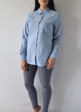 Рубашка  с очками tommy hilfiger