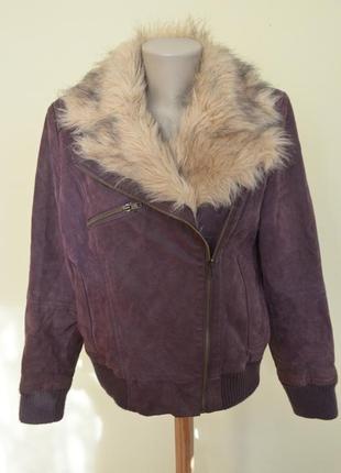 Немецкая курточка косуха натуральная кожа