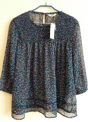 Пляжная блуза-туника peacocks