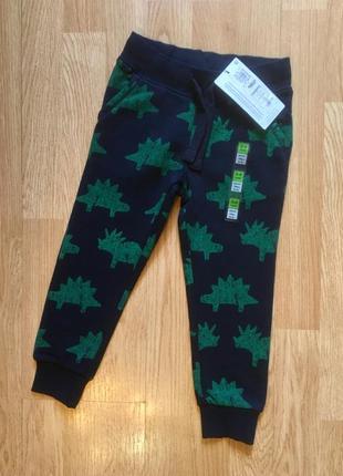 Спортивные штаны, штаны на флисе, джоггеры для мальчика marks&...