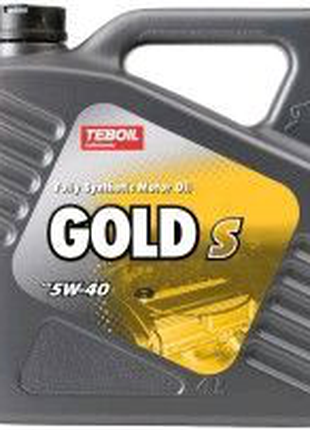 Моторне масло Teboil Gold S SAE 5W-40 (4/1л)