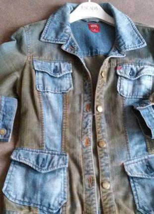 Крутая джинсовая куртка miss sixty