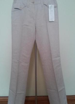 Стильные льняные итальянские брюки luisa cerano