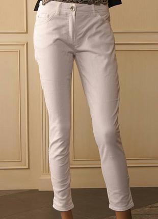 S новые белые летние джинсы laurel escada уценка