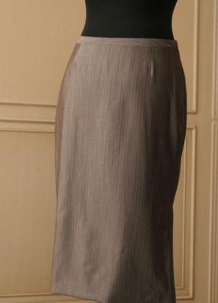 Новая!! xs rene lezard германия серая юбка карандаш