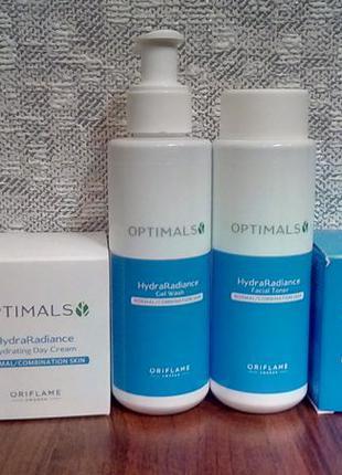 Набор для лица для нормальной и комбинированной кожи optimals