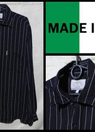 Брендова сорочка чоловіча armani jeans xl [італія] (рубашка му...