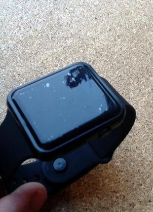 Годинник led unisex (часы) імітація smart watch