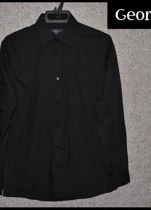 Брендова сорочка чоловіча george tailor & cutter l [великобрит...
